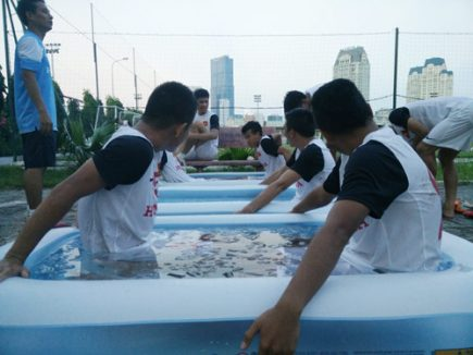 Tuyệt chiêu luyện công của olympic Việt Nam