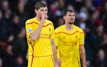 Thảm bại của Liverpool trước đối thủ yếu Crystal Palace