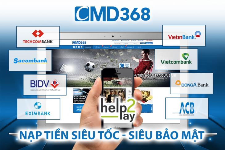 hướng dẫn nạp tiền cmd368