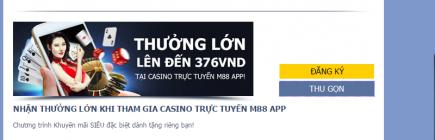 M88 tiếp tục giữ vị trí số 1 trong danh sách nhà cái uy tín hàng đầu Việt Nam