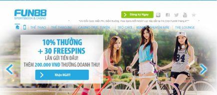"""Fun88 – Nhà cái """"trẻ"""" uy tín của thị phần nhà cái Việt Nam"""