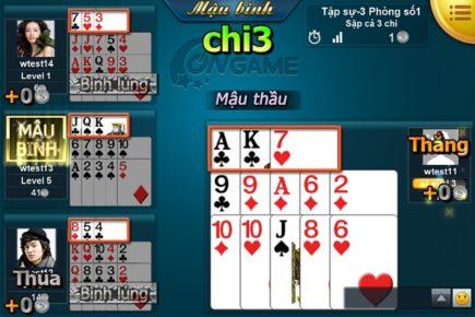Hướng dẫn tham gia Mậu Binh cùng Game đánh bài Bigkool Online