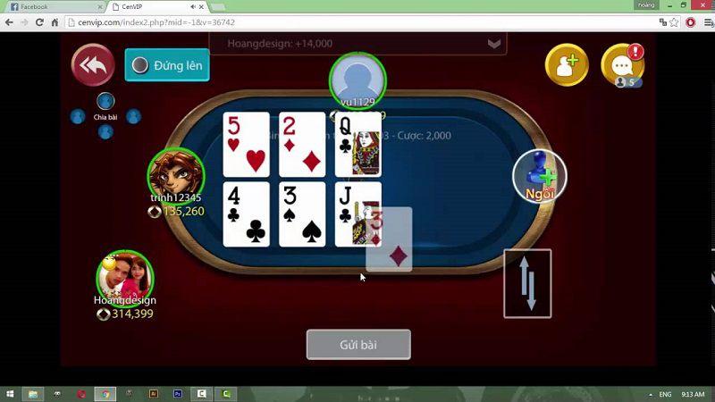 chơi bài mậu binh online