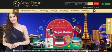 Hướng dẫn đăng ký tài khoản Vegas Casino