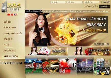 Hướng dẫn đăng nhập vào Dubai Casino