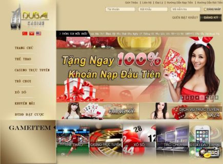 Các chương trình khuyến mãi tại dubai casino