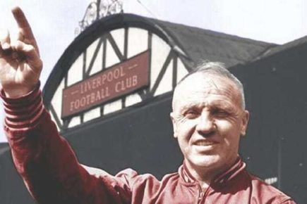 Bill Shankly- Huấn luyện viên đầu tiên của Liverpool