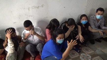 Triệt phá tụ điểm đánh bạc, bắt giữ 38 đối tượng ở Vĩnh Phúc