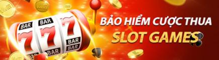 Bảo hiểm cược thua Slot games tại nhà cái vwin