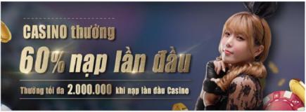 Dubai casino thưởng 60% nạp lần đầu tại sàn casino trực tuyến