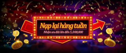 Khuyến mãi 10% nạp lại mỗi tuần tại dubai casino