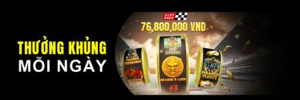 Khuyến mãi 138bet thắng thêm tại slot race với thưởng khủng mỗi ngày