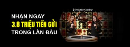 Nhà cái 138bet casino trực tuyến evolution thưởng chào mừng