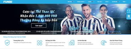 Nhà cái fun88 thưởng 100% đăng ký Game Việt