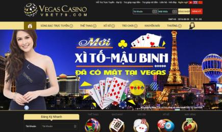Nhà cái vegas casino thưởng 218% chào mừng tại slots