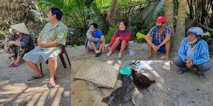 Triệt xóa trường gà Ấp Nhà Thờ tại Vĩnh Long