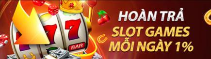Vwin hoàn trả 1% slot games mỗi ngày