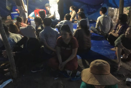 Triệt phá tụ điểm đánh bạc giữa đầm lầy tại Đồng Nai