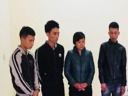 Bắt giữ 4 đối tượng chơi đánh bạc ở Ninh Bình