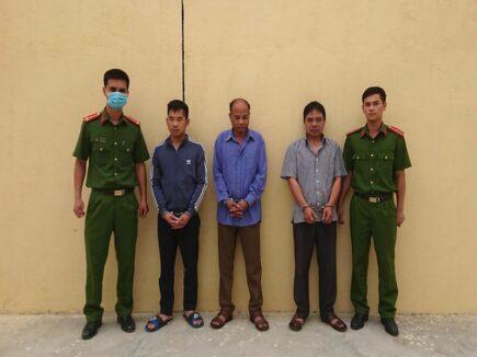 Công an huyện Quỳnh Lưu phá ổ bạc lô đề tiền tỷ