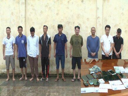 Triệt phá 2 sới bạc ăn tiền tại tỉnh Thanh Hóa