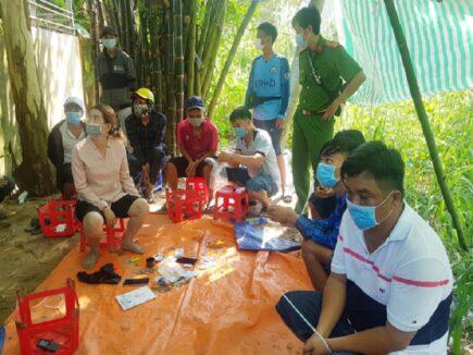 Triệt xóa tụ điểm đánh bạc tại An Giang
